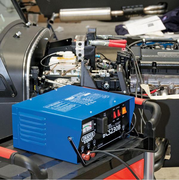 Draper 24561 BCS230B Expert 12/24V 230A Battery Starter/Charger Thumbnail 3