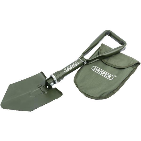 Draper 51002 SS1000/2 Folding Steel Boot Shovel Thumbnail 1