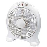 """Draper 51074 FAN10B 12"""" 230V Box Fan"""