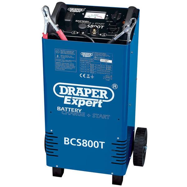 Draper 52030 BCS800T Expert 12/24V 700A Battery Starter/Charger Thumbnail 1