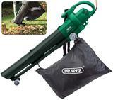 Draper 54477 BV2500 2500W Garden Vacuum Blower Mulcher