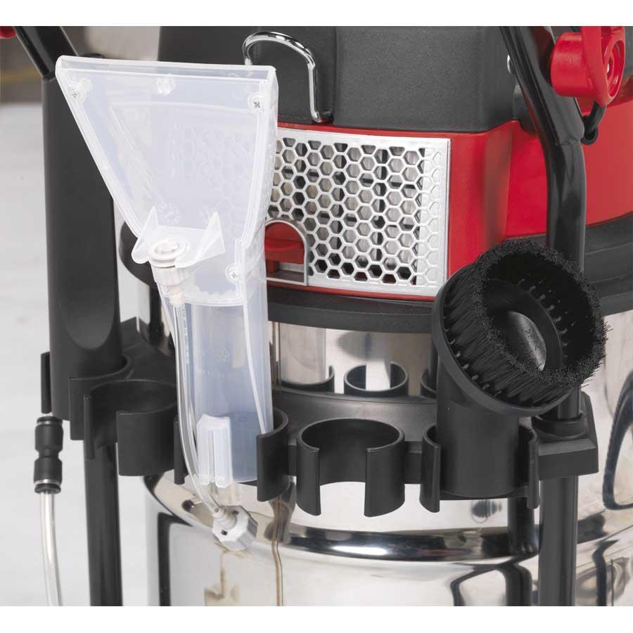 Sealey Vma915 Valet Machine Wet Amp Dry 30ltr Stainless Bin