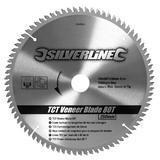 Silverline 244964 Circular Saw Veneer Blade 80T 250mm 30mm