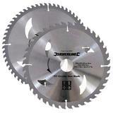 Silverline 803634 TCT Circular Saw Blades 2pk 300mm dia