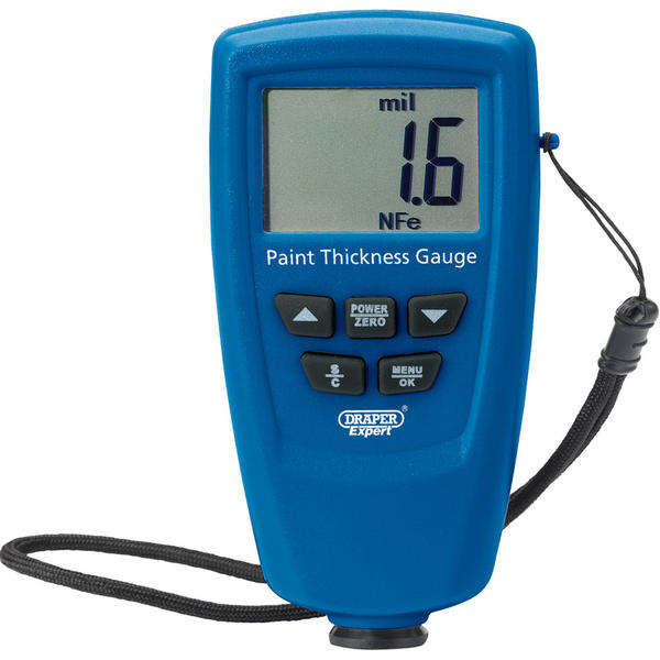 Draper 43620 PTG1250 Expert Ultrasonic Paint Thickness Gauge Thumbnail 2