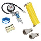 Draper Airline/Car Tyre Inflator Kit with Air Pressure Gauge