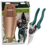 Draper 61412 GSH Bypass Secateurs and Holster (200mm)