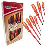 Draper 64694 965/7 Expert Ergo Plus 7 Piece VDE Screwdriver Set