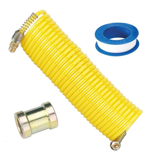 "Draper Airline Hose Kit with Male to Fem Connector 1/4"" BSP & PTFE Tape Thumbnail 1"