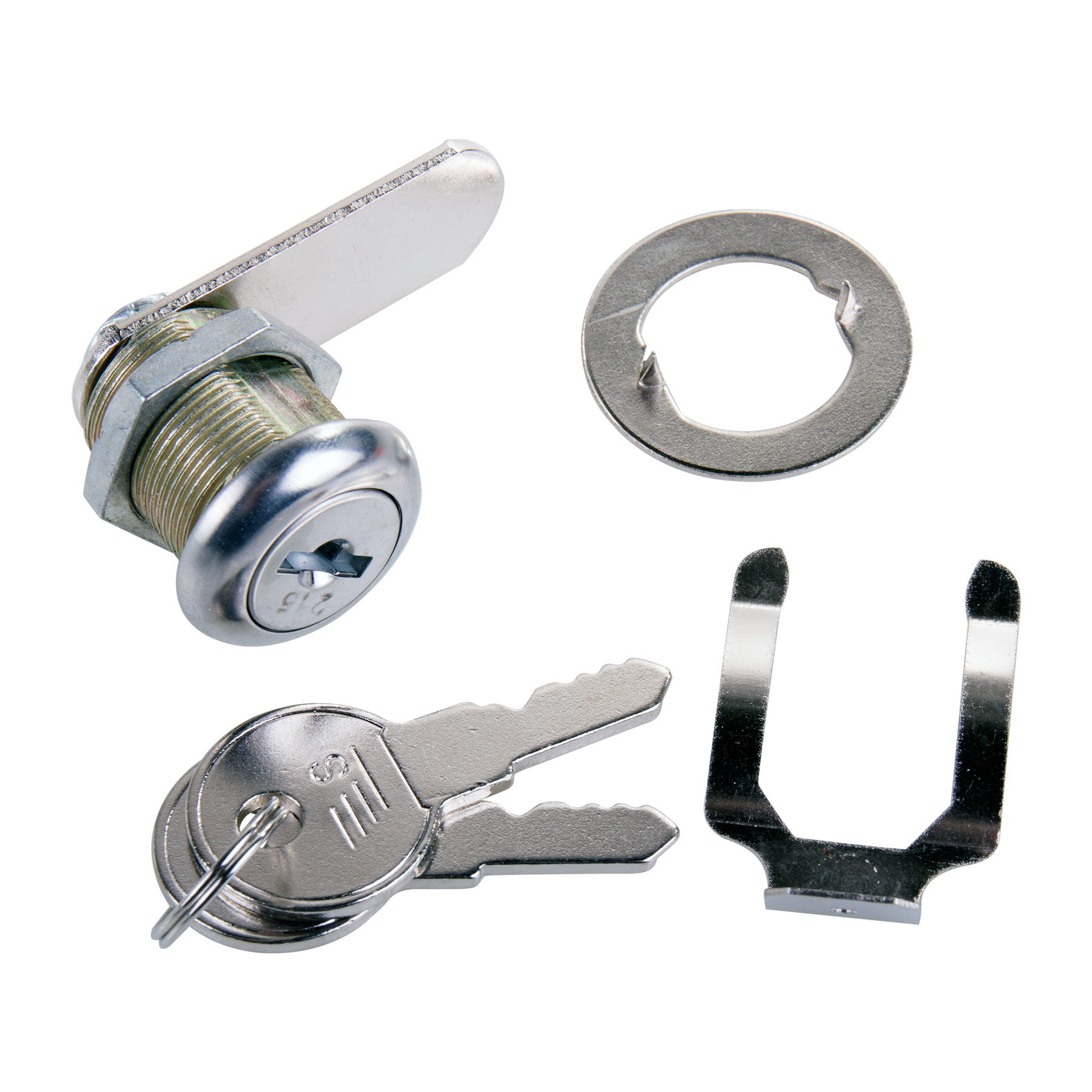 Sterling security cam lock locks with keys various sizes