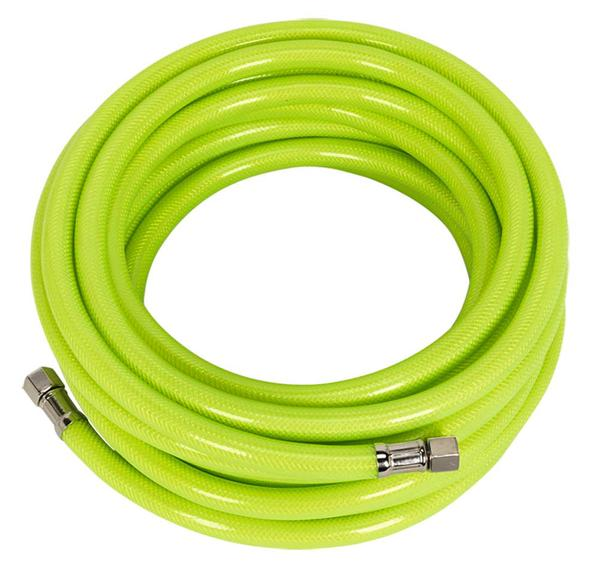 "Sealey High Vis Visibility Air Hose 10m x 8mm with 1/4"" BSP Unions Thumbnail 2"