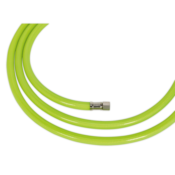 "Sealey High Vis Visibility Air Hose 10m x 8mm with 1/4"" BSP Unions Thumbnail 3"