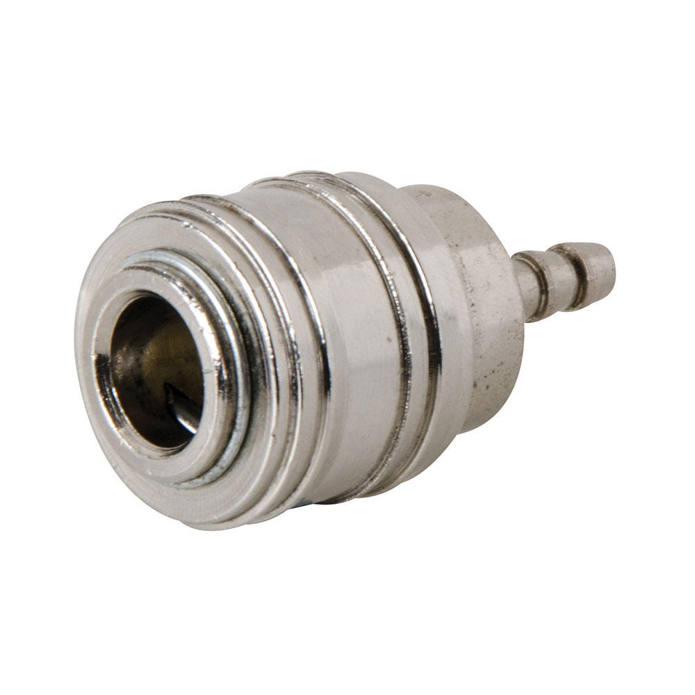 Silverline 238650 Euro Air Line Hose End Quick Coupler 8mm Hose End