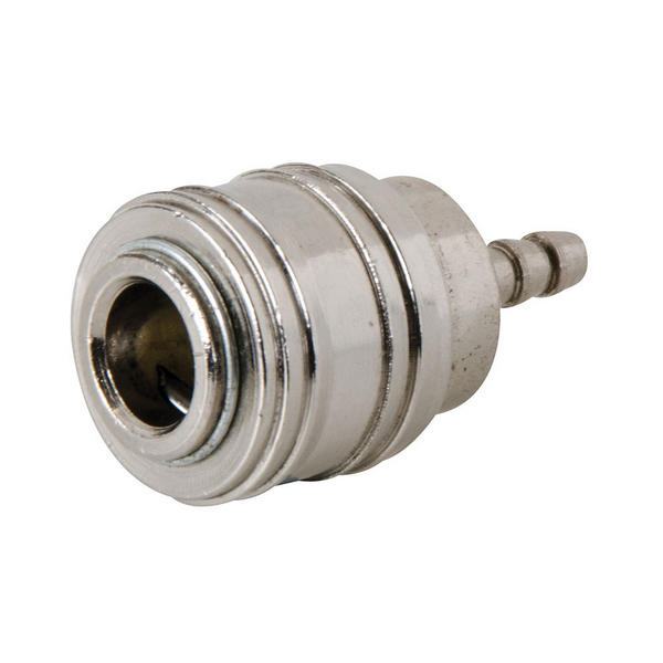 Silverline 238650 Euro Air Line Hose End Quick Coupler 8mm Hose End Thumbnail 1