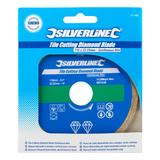 Silverline 571499 Tile Cutting Diamond Disc 110mm X 22.2mm