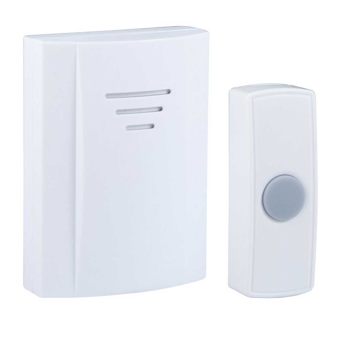 Byron B304 50m Wireless Portable Door Chime Kit With 2