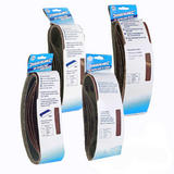 Pack Of 20 Mixed Grit Sanding Belts For Makita and Ryobi Sanders