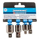 Silverline 793755 4 Piece Socket Converter Set
