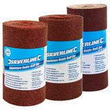 Silverline Aluminium Oxide Sandpaper Roll Assorted Grit