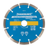 Silverline 868619 Concrete & Stone Cutting Diamond Disc 150 X 22.2mm