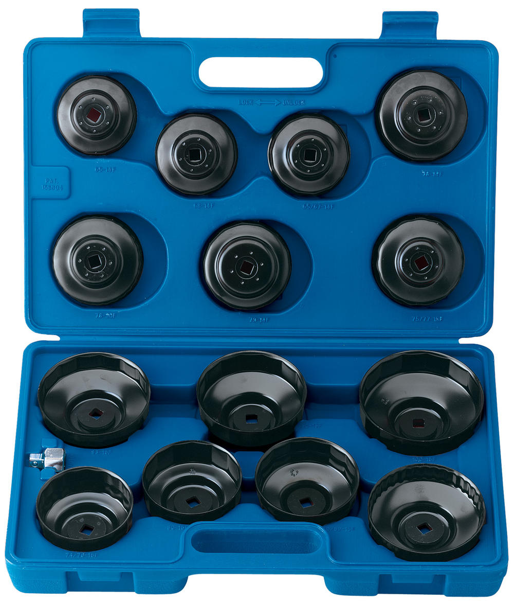 Draper 40105 OfcsSet15 Expert 15 Pce Oil Filter Cup Socket Set