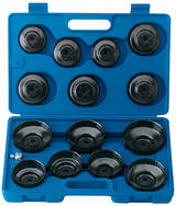 Draper 40105 OfcsSet15 Expert 15 Pce Oil Filter Cup Socket Set