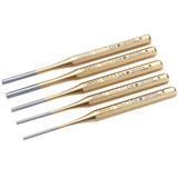 Draper 13041 119/5 Expert Octagonal Parallel Pin Punch Set (5 Piece)