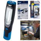 Draper 80962 RIL/COBV2/BL Rechargable COB LED Inspection Lamp Blue