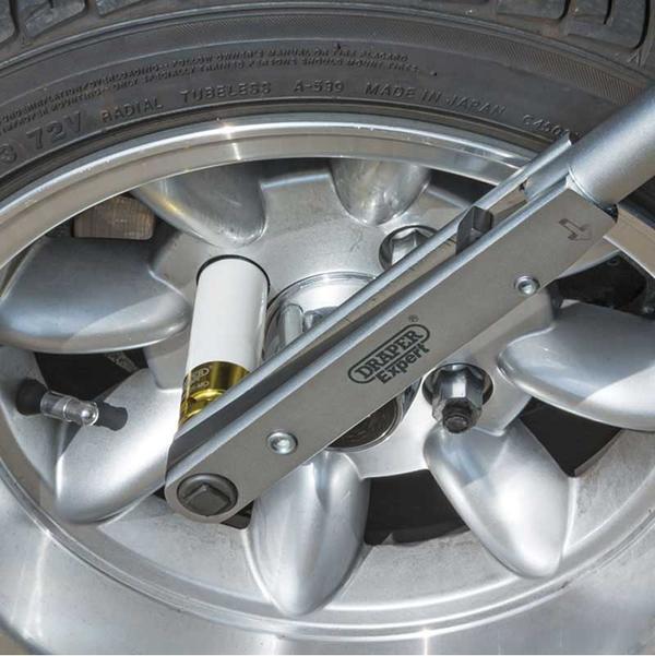 "Draper 83317 PTW Expert 1/2"" Square Drive 'Push Through' Torque Wrench 50-225Nm Thumbnail 2"