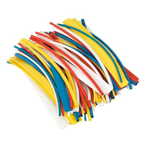 Sealey HST200MC Heat Shrink Tubing Mixed Colours 200mm (100 Piece) Thumbnail 1