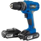 Draper 14602 Storm Force Cordless Hammer Drill (18V) with Bit & Wall Plug Set