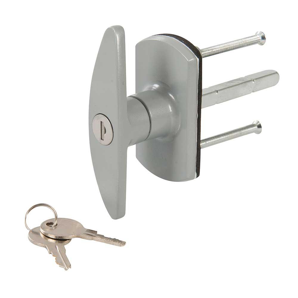 Silverline T Handle Garage Door Lock Locking Handle With Square