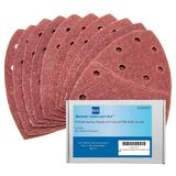40 Bond Sanding Sheets For Bosch PSM 100A Detail Palm Sander 40 Grit Very Coarse