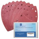 40 Bond Sanding Sheets For Skil Fox Detail Palm Sander 120 Grit (Fine)
