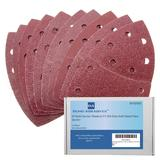 40 Bond Sanding Sheets For Skil Octo Multi Detail Palm Sander Mixed Grit