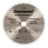 Silverline 672886 TCT Mini Saw Blade 85mm Dia - 10mm Bore - 80T