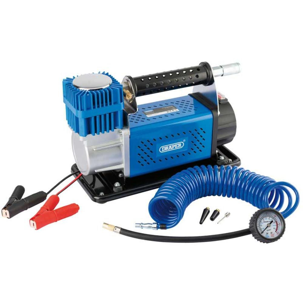 Draper 66155 DA12/150 12V Portable Air Compressor