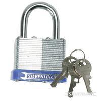 704400 Heavy Duty 50mm Laminated Steel Padlock & 2 Keys