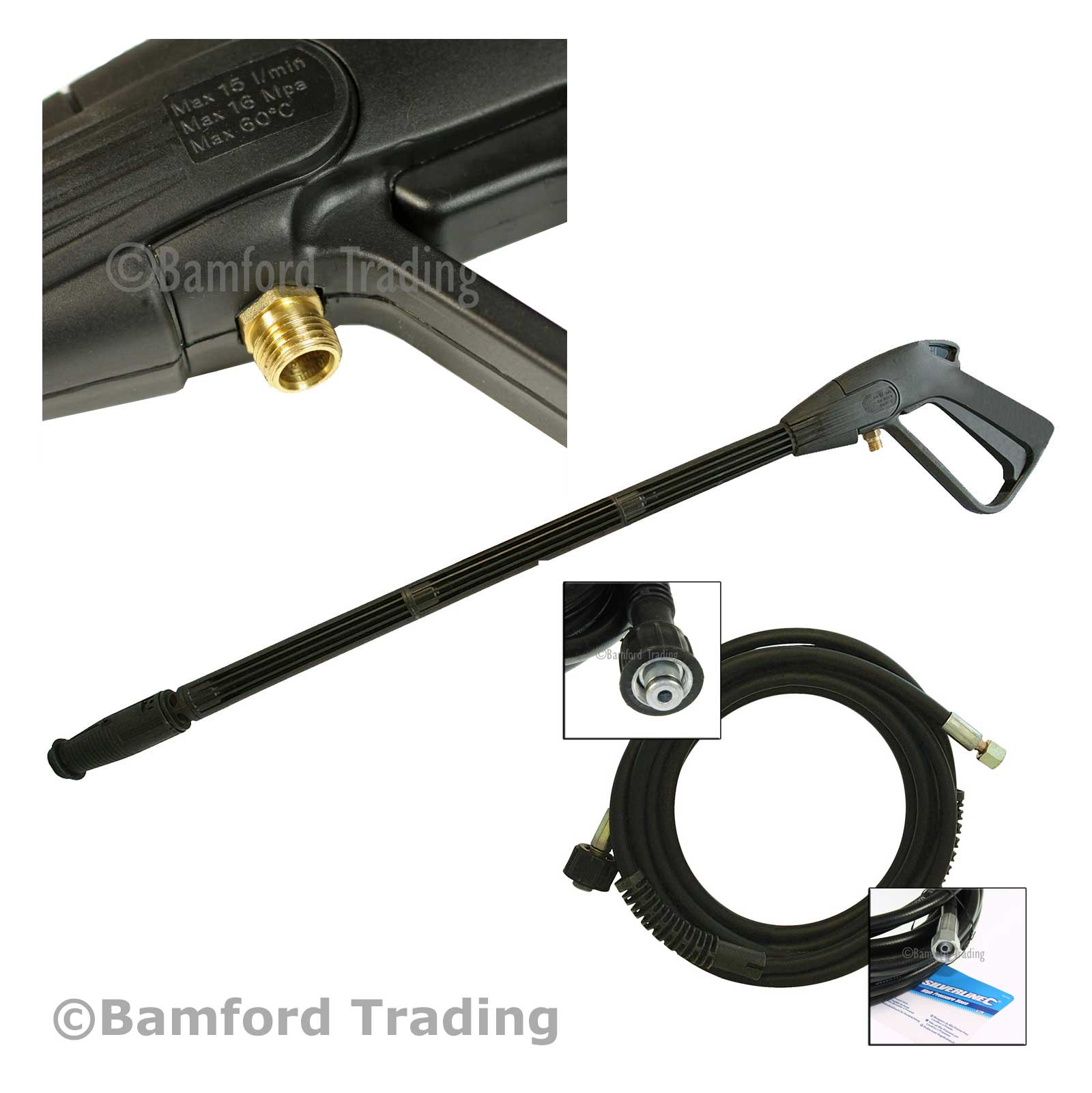 Replacement Challenge Xtreme Pressure Washer Hose And Lance Kit Truck Side Wiring Harness