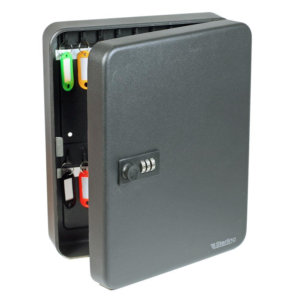 Sterling KC36C 36 Key Capacity Cabinet with Combination Lock ...