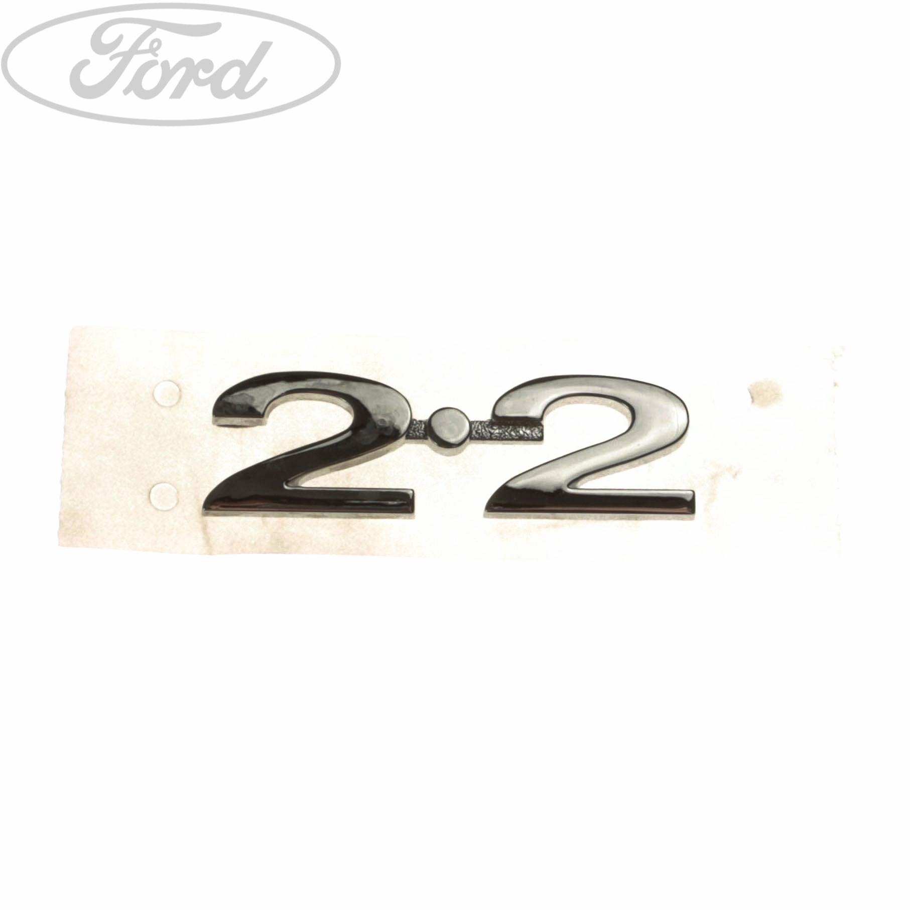 Genuine ford mondeo mk4 s max mondeo mk4 2 2 name plate badge emblem 1688861