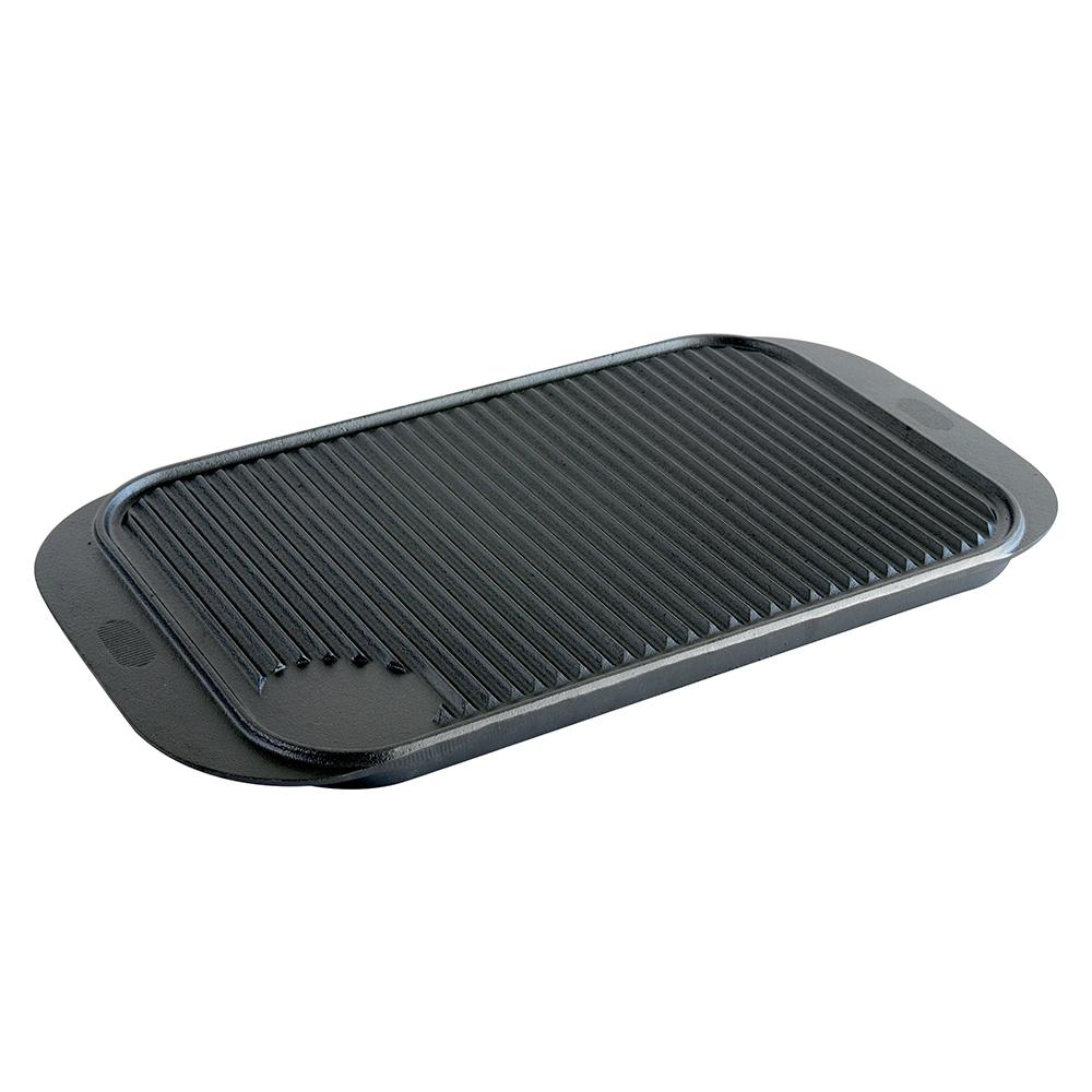 procook cast iron reversible griddle skillet frying oven. Black Bedroom Furniture Sets. Home Design Ideas