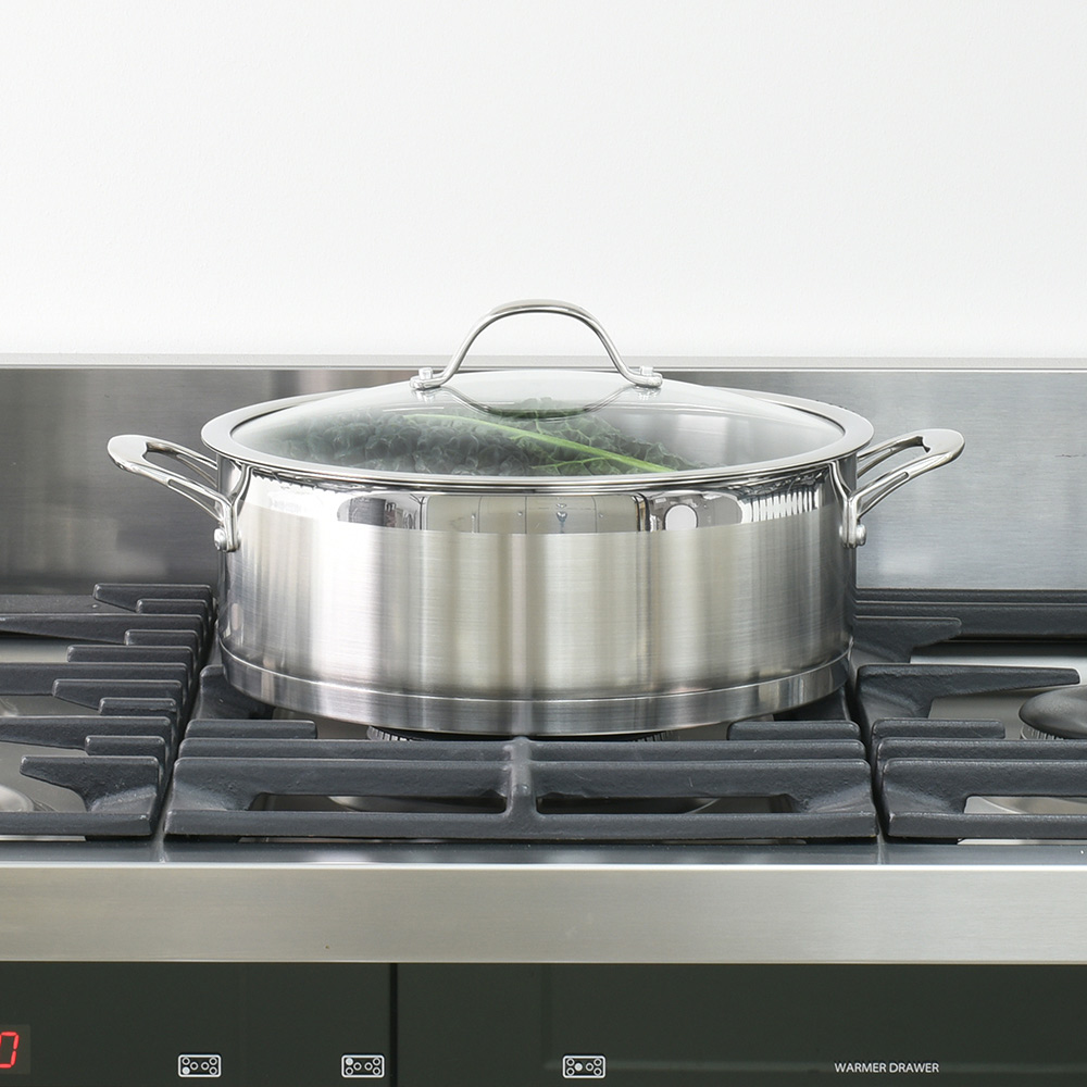 Procook professional batterie de cuisine inox for Batterie de cuisine induction inox