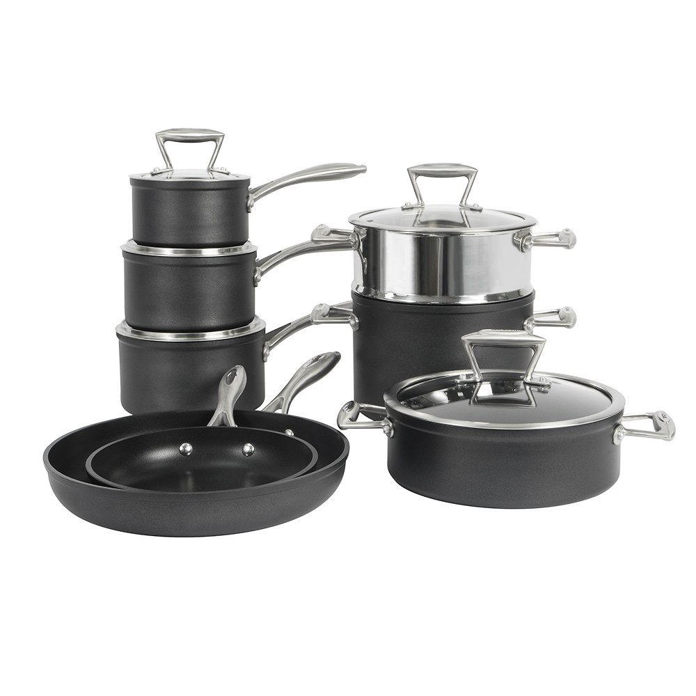 Kitchen Non Stick Set: ProCook Forged Non-Stick Induction Cookware Set Pots And