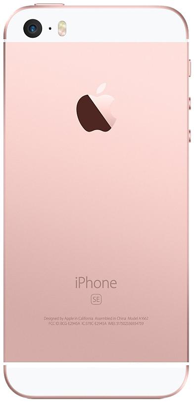 Apple Iphone Se Gb Sim Free Unlocked Rose Gold