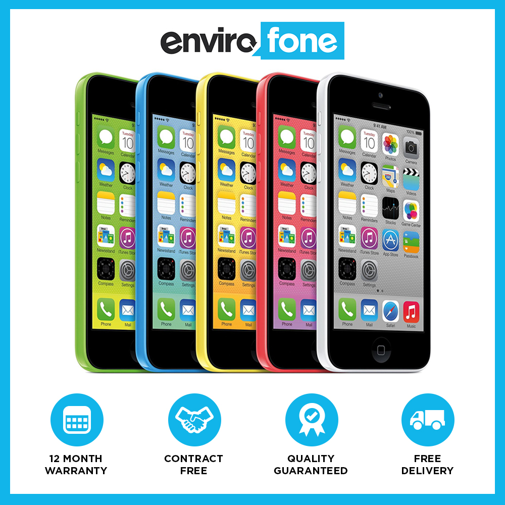 ebay refurbished iphone apple iphone 5c 8gb 16gb 32gb unlocked sim free 10535