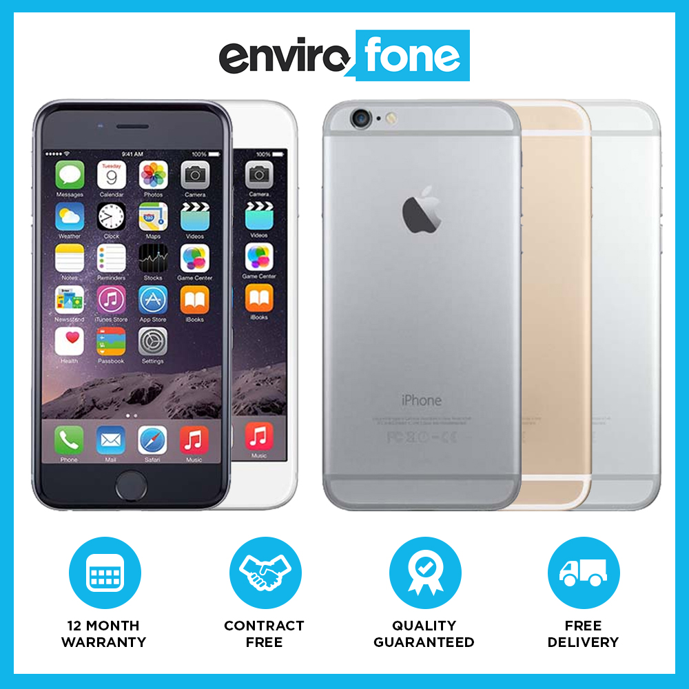 ebay refurbished iphone apple iphone 6 16gb 64gb 128gb unlocked sim free 10535