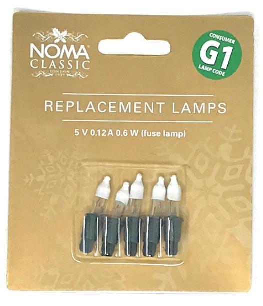 5V 0.12A 0.6W Christmas Tree Bulbs (Pack of 5) - 5V 0.12A 0.6W Christmas Tree Bulbs (Pack Of 5) EBay