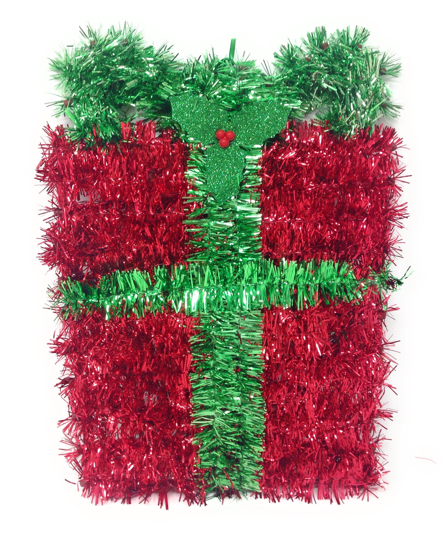 Tinsel Christmas Tree On Wall - Best Tree 2017