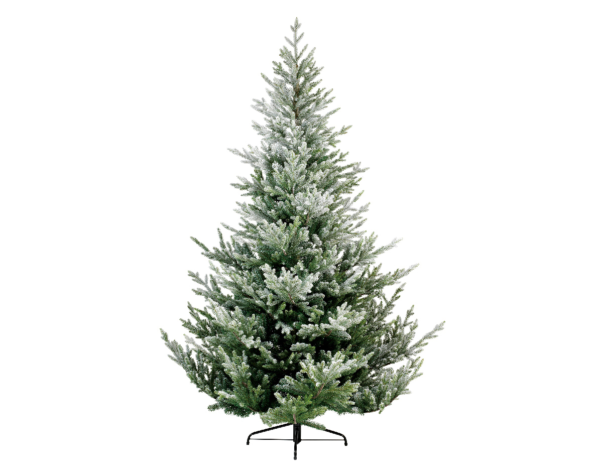 best service 31d79 e612d Details about 6ft Everlands Snowy Norway Spruce Hinged Artificial Christmas  Tree